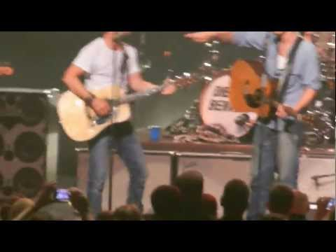 Garrett Hedlund and Dierks Bentley April 13, 2012