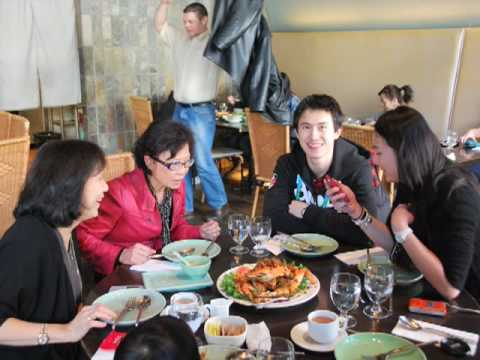 On The Road - Dinner With Patrick Chan