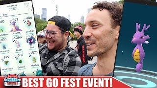 THE BEST GO FEST IN POKÉMON GO HISTORY! HOW TO GET JIRACHI, SHINY HORSEA, SHINY ABRA + MORE