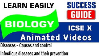 ICSE IX BIOLOGY Diseases-Causes & control-7-Infectious diseases and their prevention by SuccessGuide