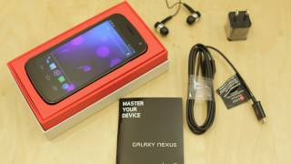 Verizon LTE Galaxy Nexus Unboxing