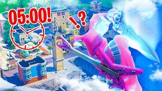 MEGA ZWAARD vs TILTED TOWERS *WERELDRECORD* - Fortnite Nederlands