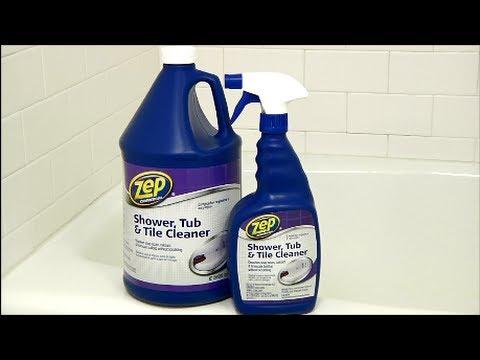 Zep Commercial Shower Tub Amp Tile Cleaner Youtube