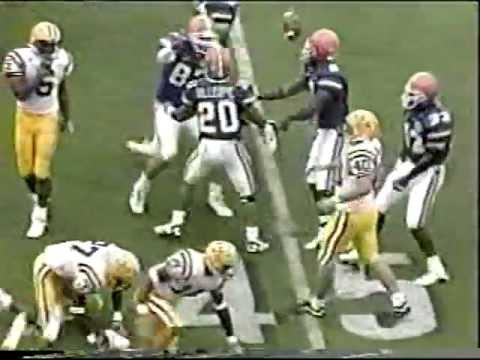 10/06/01 - #2 Florida 44, #18 LSU 10. Rex Grossman puts on a clinic racking up 464 passing yards.