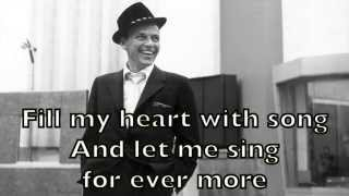 Frank Sinatra Fly Me To The Moon Karaoke Backing Track Acoustic Instrumental