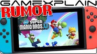 RUMOR - New Super Mario Bros. U Deluxe Coming to Nintendo Switch! (Includes New Super Luigi U)