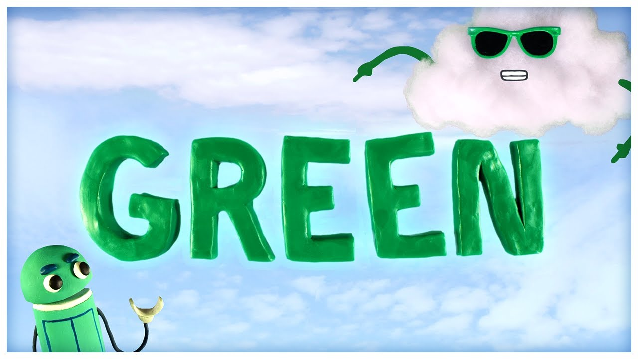 """""""Think Green,"""" Songs About Colors by StoryBots - YouTube"""