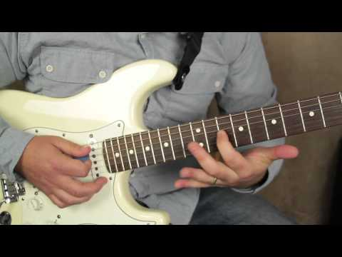 Albert King and Stevie Ray Vaughan Style Licks - Lead Blues Guitar Lessons Fender Strat