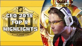 Ceo Gaming Top 8 Highlights || Wizzrod is back with the clutch