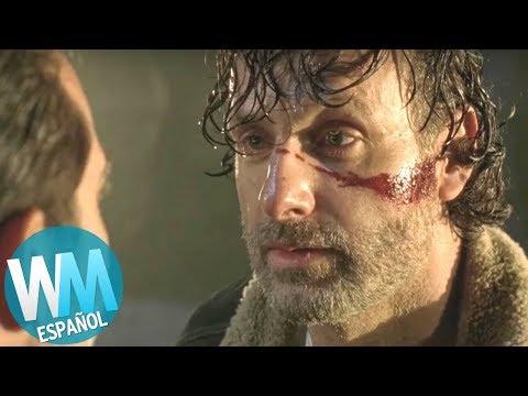 ¡Top 10 Muertes IMPACTANTES en The Walking Dead!