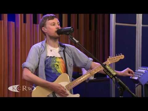 Django Django performing &quot;Waveforms/Drumforms&quot; Live on KCRW