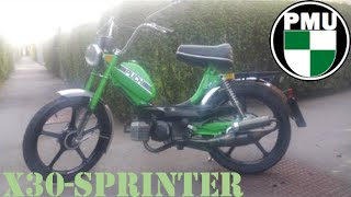Sprinter #1 Puch x30 Vergaser Tuning (fail)