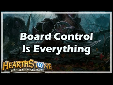 [Hearthstone] Board Control Is Everything