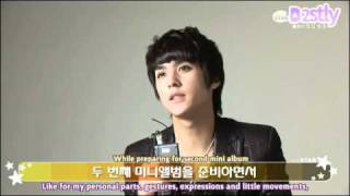 [B2STLYSUBS] 100325 THE STAR Interview - Dongwoon