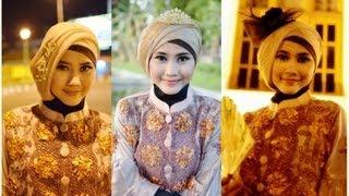 Tutorial Hijab Modern Paris | Tutorial Hijab Pesta dan Wisuda by ...