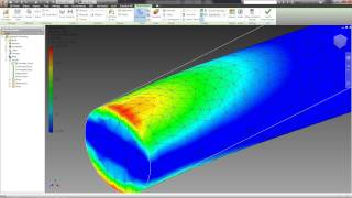 07. ANALYSIS OF THE STRESS OF THE PART (Autodesk Inventor tutorials)