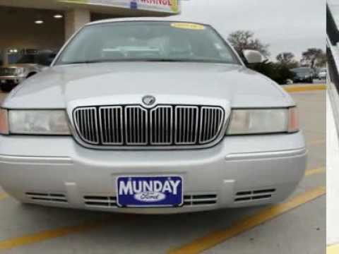 2002 MERCURY GRAND MARQUIS Bastrop, TX