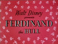Walt Disney - Ferdinand The Bull - 1938