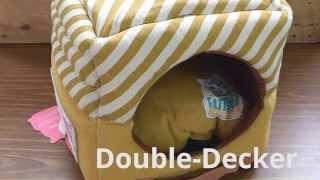 CATIDEA Double Comfy Cat Bed Quick Review Singapore