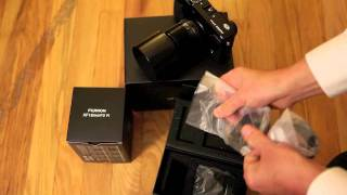 Fujifilm X-Pro1 Unboxing with Lens.m4v