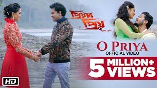 O Priya | Official | Priyar Priyo | Zubeen Garg | Siddharth | Bornali Kolita | Ritrisha
