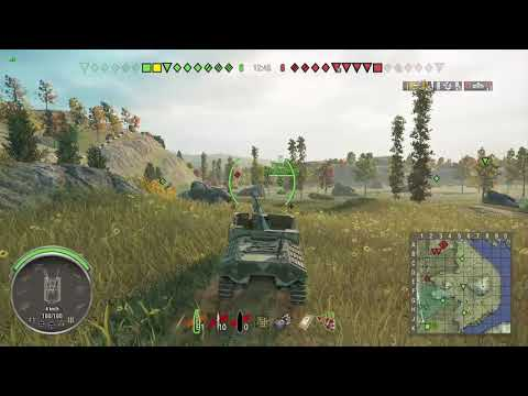 World of Tanks Xbox one Sexton I 6 Kills (APRIL ASSAULT Completed)