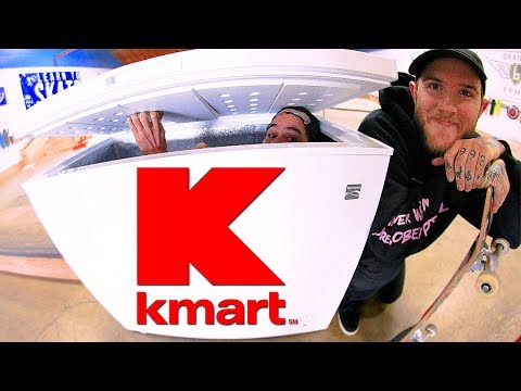 KMART HAS THE BEST DIY SKATE LEDGES?!