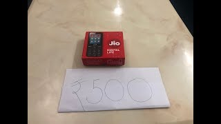 Jio Phone Quick Unboxing and Review of 6 months of Usage