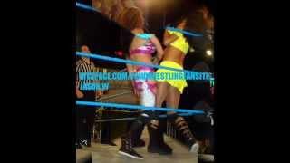 WWE MELINA VS MILENA ROUCKA!!!!