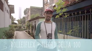 ROLLEIFLEX TLR + ILFORD DELTA 100 PUSH+2 QUICKIE ROLL #10