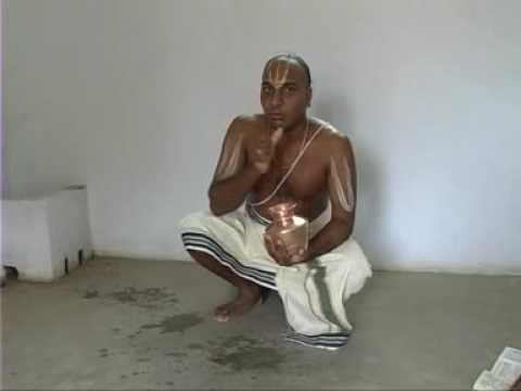 Sandhya Vandanam - Part I - Achamanam video