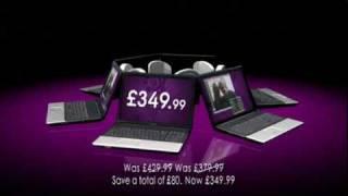 """Pc World Compaq 17"""" Laptop TV Advert"""