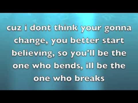 Bend Or Break lyrics by Allstar Weekend