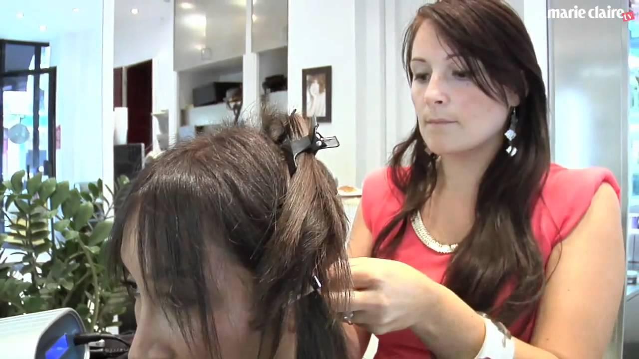 Extensions cheveux technique aux ultrasons marie claire - Salon de coiffure vip ...