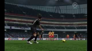 Series Free Kicks Fifa Online 3 || No16. Ronaldinho - Knuckle Ball Free Kick