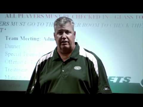 Rex Ryan Speech Training Camp