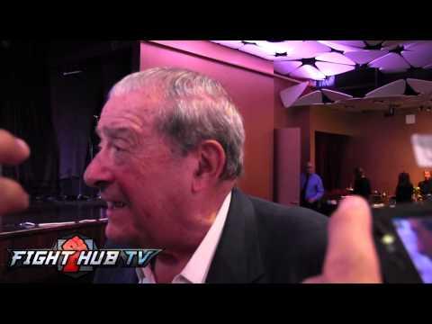 Bob Arum update on Manny Pacquiao shoulder injury & Floyd Mayweather rematch