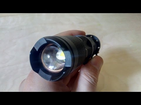 UltraFire 1600Lm Cree XML T6 LED Flashlight from Gearbest.com