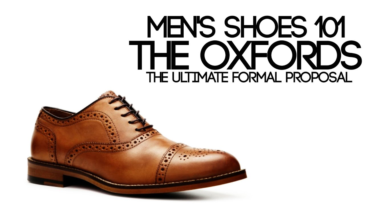 Where To Buy Mens Oxford Shoes