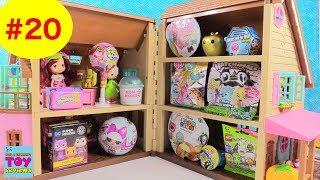 Blind Bag Dollhouse #20 Unboxing Disney Shopkins Hatchimals Lego   PSToyReviews