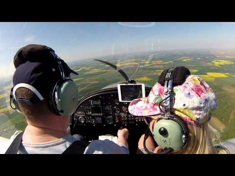 GoPro HD - EV97 Team Eurostar Flight 26/05/2013 - Flying with Penny - with ATC