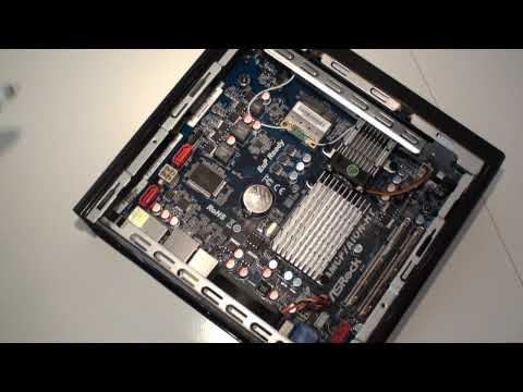 ASRock ION 330HT-BD Nettop - Unboxing and Undressing Video