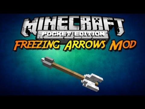 Minecraft PE 0.9.X Complemento Freezing Arrows Mod Español