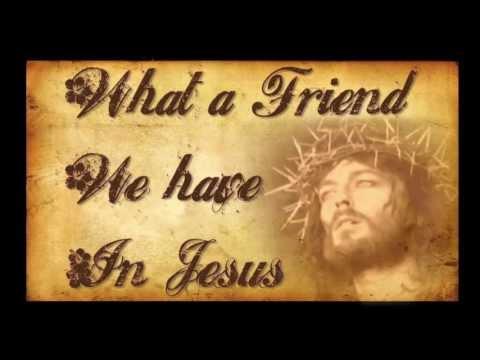 What A Friend We Have In Jesus- Bluegrass Gospel Hymn with Lyrics