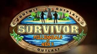 Survivor Millennials vs Gen X (intro)