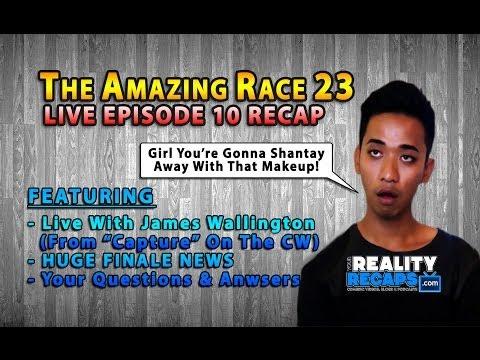 The Amazing Race 23 Episode 10 Live Recap With James Wallington!