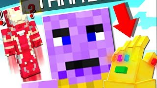 THANOS INFINITY GAUNTLET DESTROYS MINECRAFT PE! (MCPE)