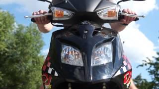 Обзор скутера KYMCO DJ 50 S