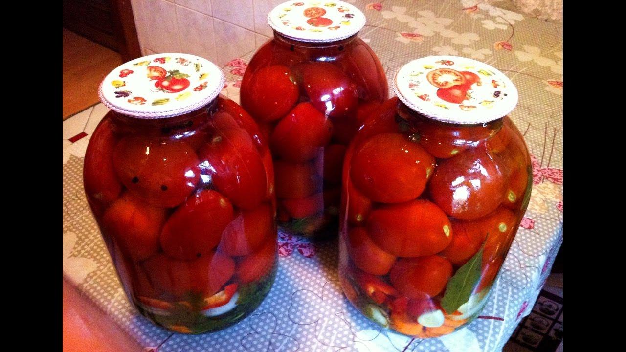 Консервированные помидоры на зиму рецепты с фото пошагово