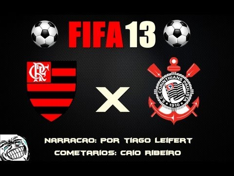 FIFA 13 - Flamengo x Corinthians (Nivel: Lendario)(Elencos Atualizados)
